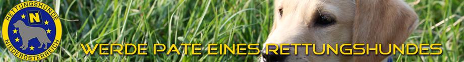 Patenschaften der Rettungshunde Niederösterreich
